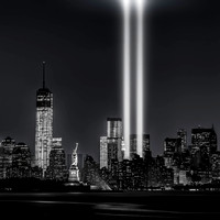 12 years later…Tribute in Lights, 9/11