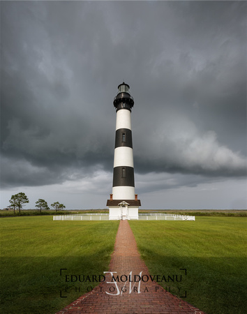 Clearing storm at the lighthouse
