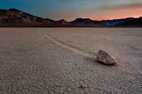 The Racetrack at Death Valley National Park, California